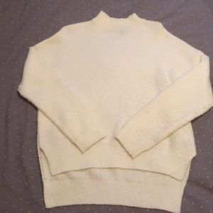 Forever 21 Sweaters - Cream mock neck sweater